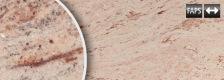 B0406 Ivory Braun Shivakashi poliert